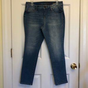 Faded Glory Ultimate Skinny Women's Blue Jeans 10P